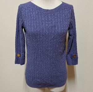 3for$20 soft purple sweater small